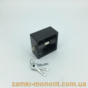 """Замок навесной ВС2-12-01 (стальной корпус, """"краб"""")"""