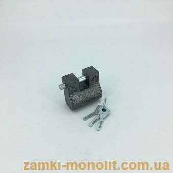 """Замок навесной ВС2-8 (стальной корпус, """"пэшка"""")"""