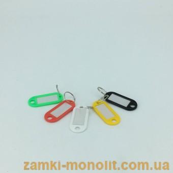 Брелок пластмассовый к ключам