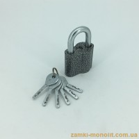 Замок навесной ASPECT ЗН-А-55-С (6 ключей)