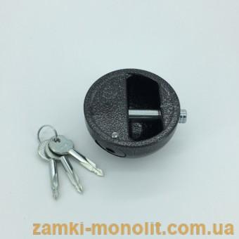 """Замок навесной ВС1-П-088 """"Полусфера"""" (крестовый ключ)"""