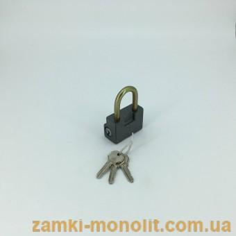 Замок навесной  ВС1-ДМ(малый, короткая дужка)