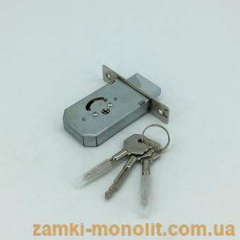 Замок врезной PILCA 156/F (ключ крест)