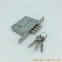 Замок врезной PILCA 189/4MF (ключ крест)