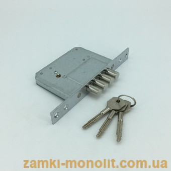 Замок врезной SIBA 189/4MF (ключ крест)