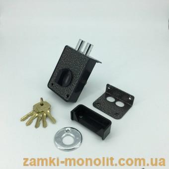 """Замок накладной ЗН1-3-1 (""""пластмасс"""")"""